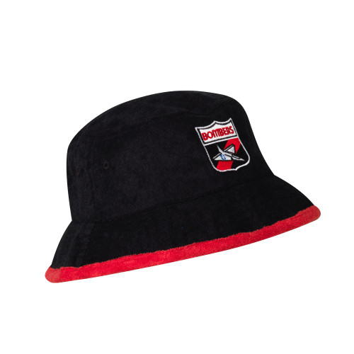 Essendon Adults Cotton Terry Bucket Hat