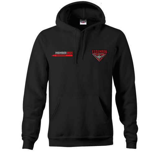Essendon Members 2021 Adults Big & Tall Hoody