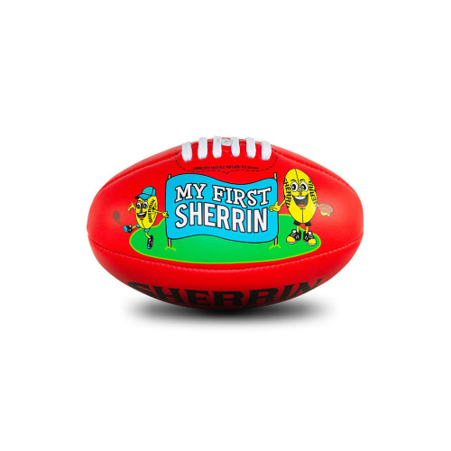 My First Sherrin Football - Red