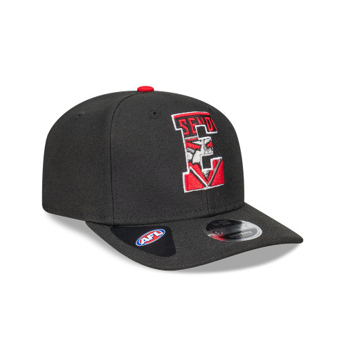 Essendon New Era 2021 9FIFTY Letter Infill Cap