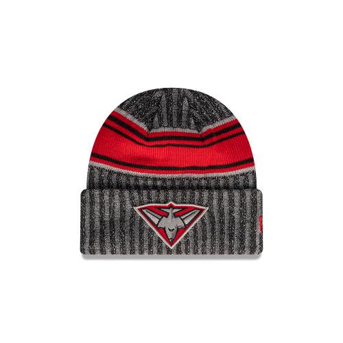 Essendon New Era 2021 Knit Strip Cuff Beanie