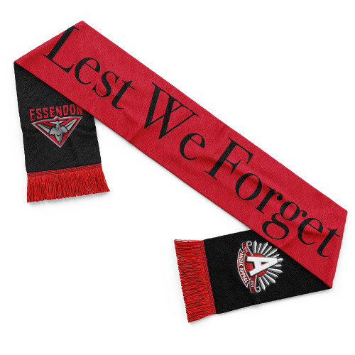 Essendon 2021 ANZAC Day Scarf