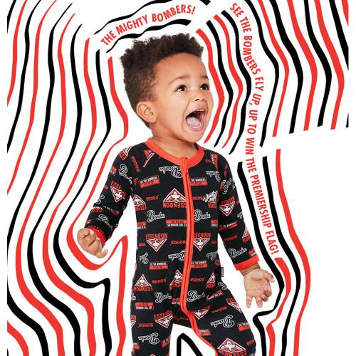 Essendon Bonds Babies Zip Wondersuit