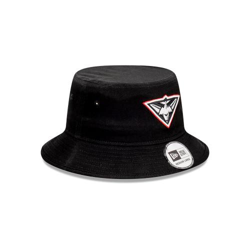 Essendon 2021 New Era Pop Outline Bucket Hat