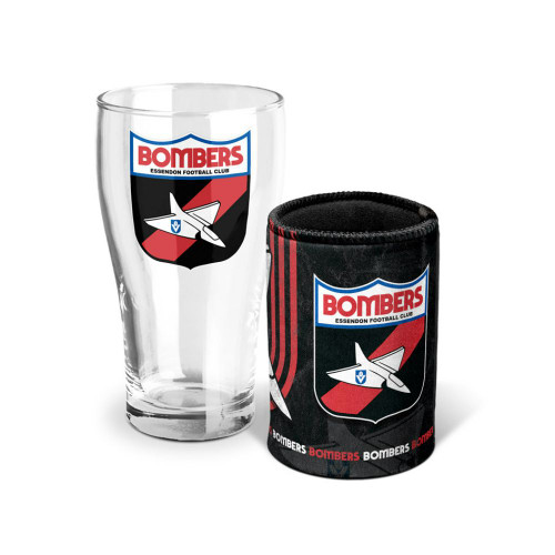 Essendon 2021 Heritage Pint and Can Cooler Pack