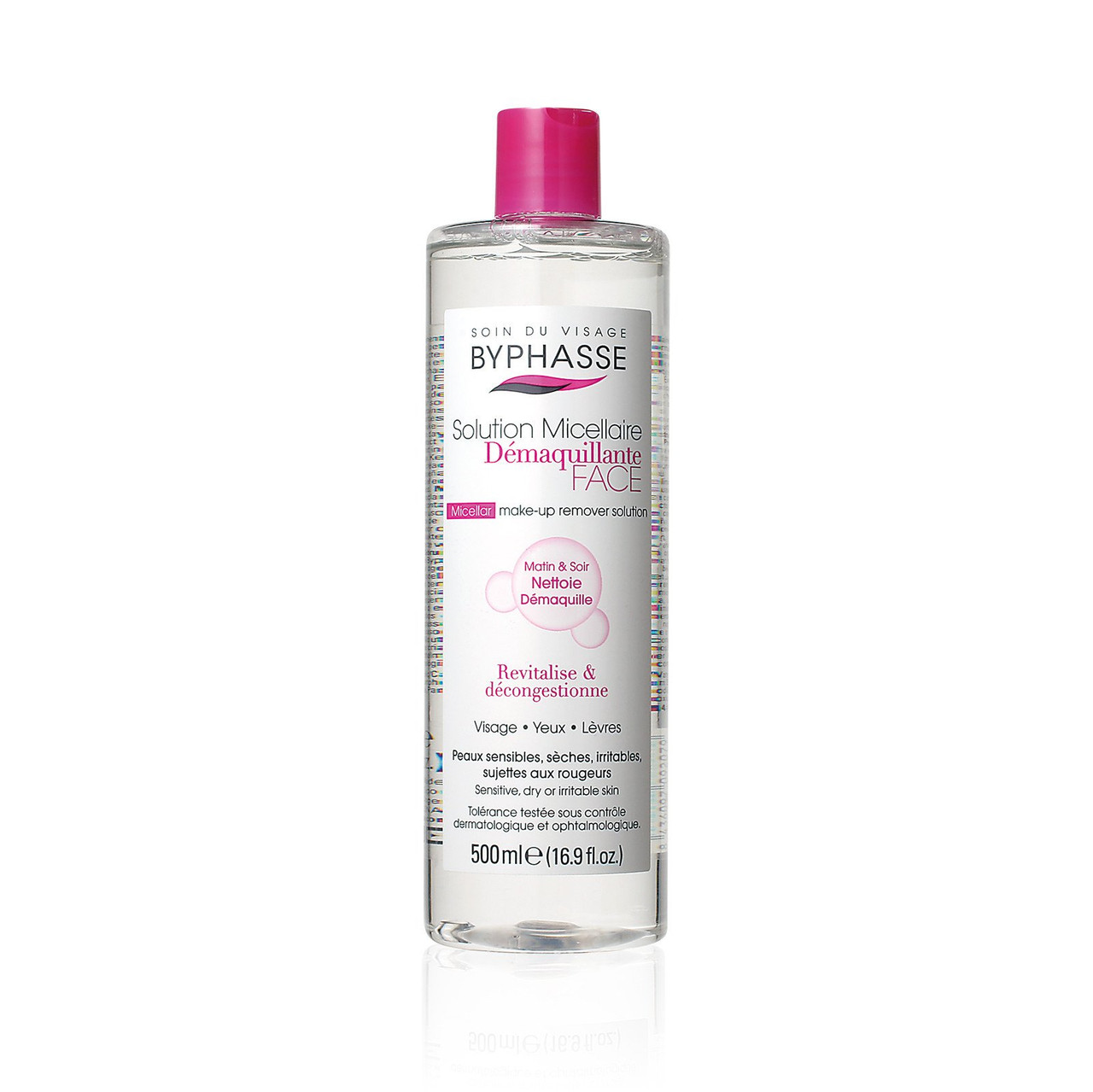 Byphasse Micellar Make-Up Remover Solution Sensitive, Dry and Irritated Skin  | Bonjour Global
