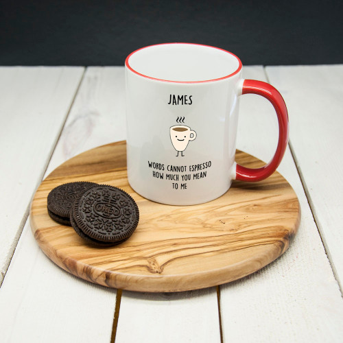 Personalized Coffee Mug - How much you mean to me