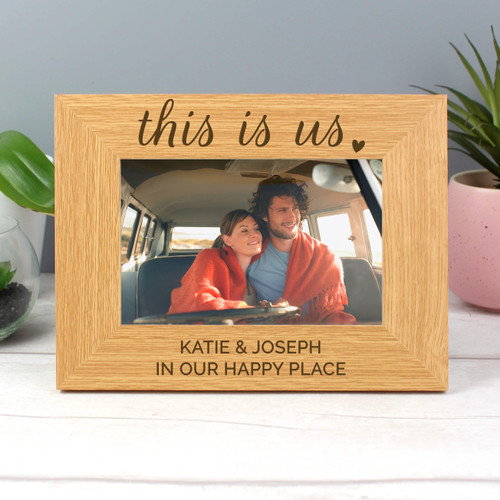 This Is Us Romantic Wooden Frame