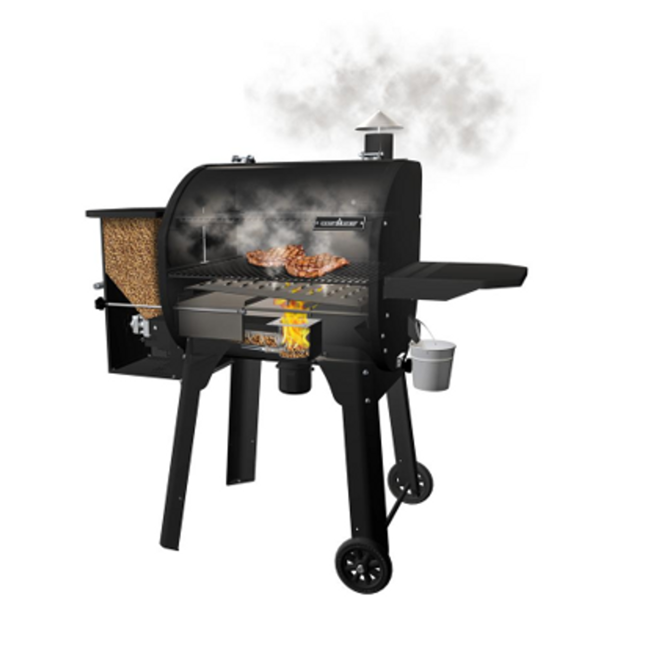 Smokepro Sg 24 Pellet Grill Bronze Bbq Smokers By Beau View