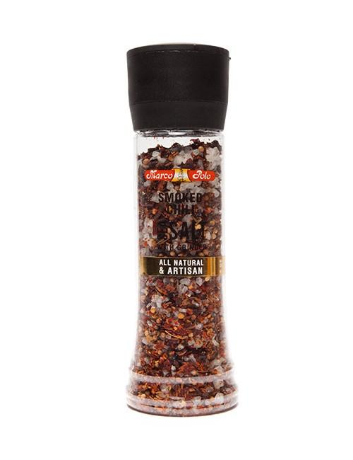 Smoked Chilli Sea Salt & Grinder 205g