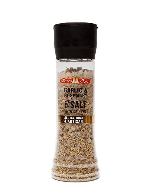Garlic-Rosemary Sea Salt 224g