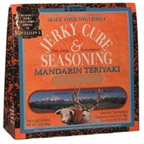 Jerky Cure & Seasoning - Mandarin Teriyaki