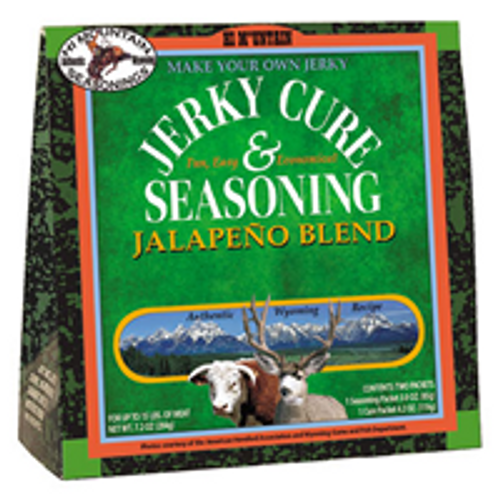 Jerky Cure & Seasoning - Jalapeno
