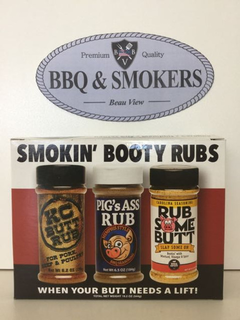 Rub Your Butt Gift Pack Smokin Booty Rubs