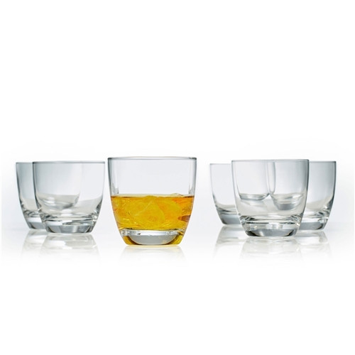 Salut Old Fashioned Tumbler Glasses Set Of 6