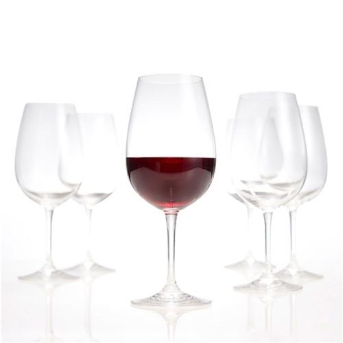 Salut Red Wine Goblets Set Of 6