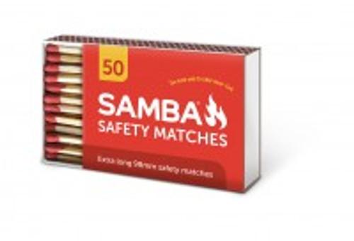 Matches 90Mm 50Pc Samba