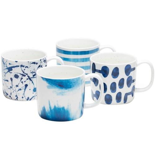 Bleu Mug Set Of 4