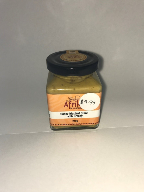 Honey Mustad Glaze With Brandy