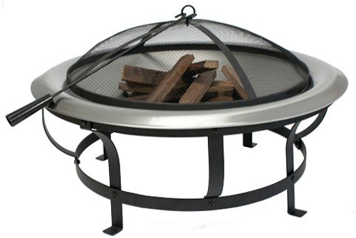 Firepit Round Sliver with Poker