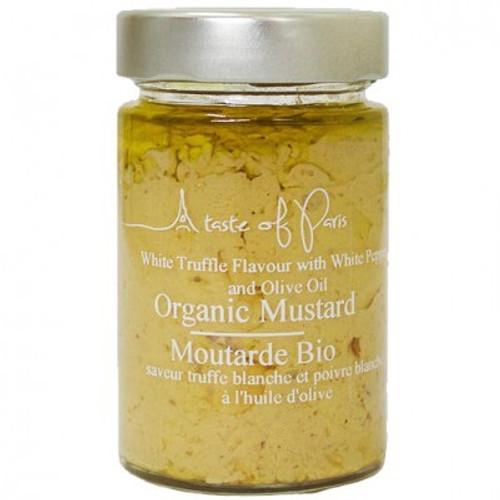 A Taste Of Paris Organic Mustard White Truffle & White Pepper
