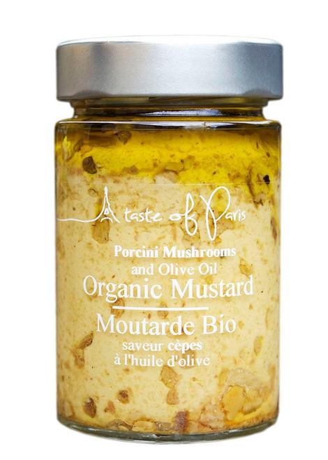 A Taste Of Paris Organic Mustard Porcini Mushroom