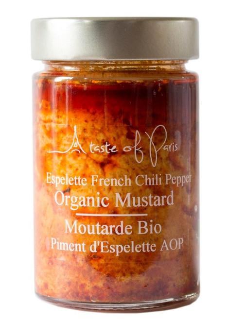A Taste Of Paris Organic Mustard Espelette French Chilli Pepper
