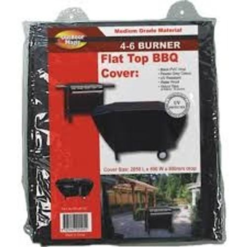 Flat Top BBQ Cover 6 Burner XL