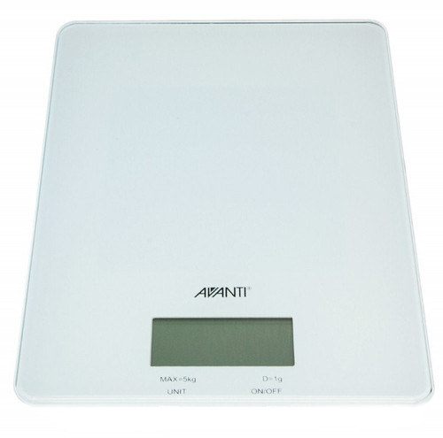 Avanti digital scale 5kg white