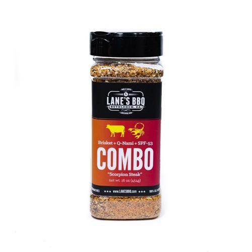Lanes BBQ Combo Rub