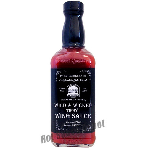 Historic Lynchburg Tennessee Whiskey Wild and Wicked Wing Sauce, 15oz.
