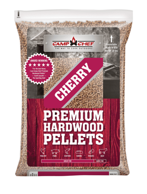 Camp Chef's Premium Hardwood Pellets