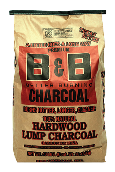 B&B Hardwood Lump Charcoal