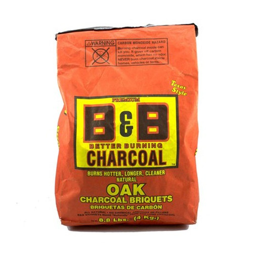 B&B Charcoal Natural Oak Briquettes