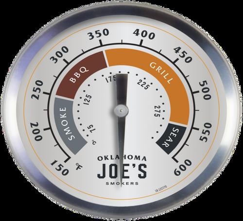 Oklahoma Joe's® 3-Inch Smoker Gauge
