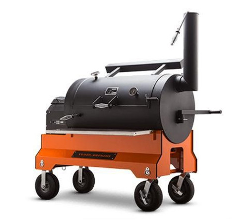 YODER YS1500 Pellet Grill with Competition Cart