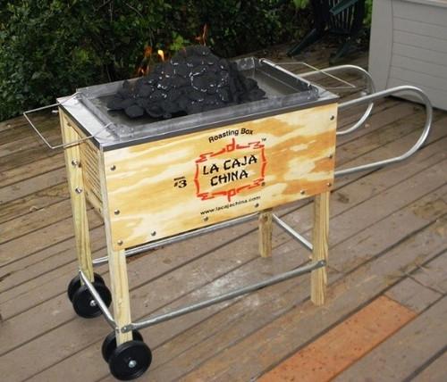 The La Caja China #3 Roasting Box