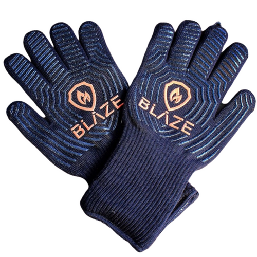 Blaze Heat Resistant BBQ Gloves