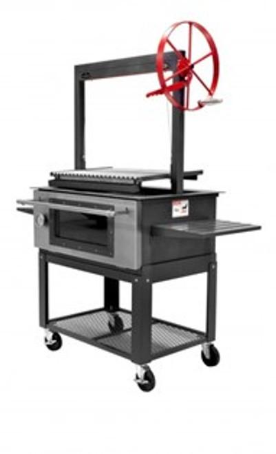 "Santa Maria 36"" Oven Combo Grill Head Firebox & Cart"