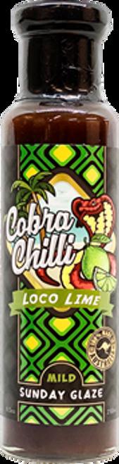 Cobra Chilli Loco Lime Mild Sunday Glaze 250ml