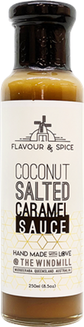 Coconut Salted Caramel Dessert Sauce