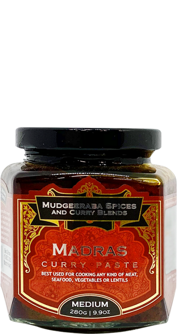 Madras Curry Masala Paste Medium