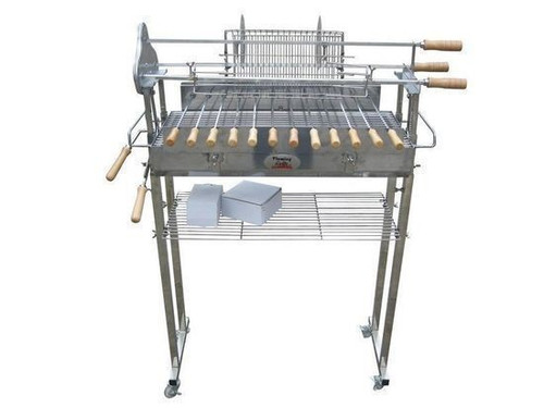 Deluxe Cyprus Grill Spit - Stainless Steel