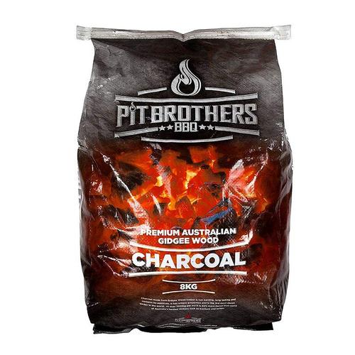Pit Brothers Premium Gidgee Wood Charcoal 8Kg