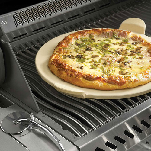 Pizza Stone With Wheel