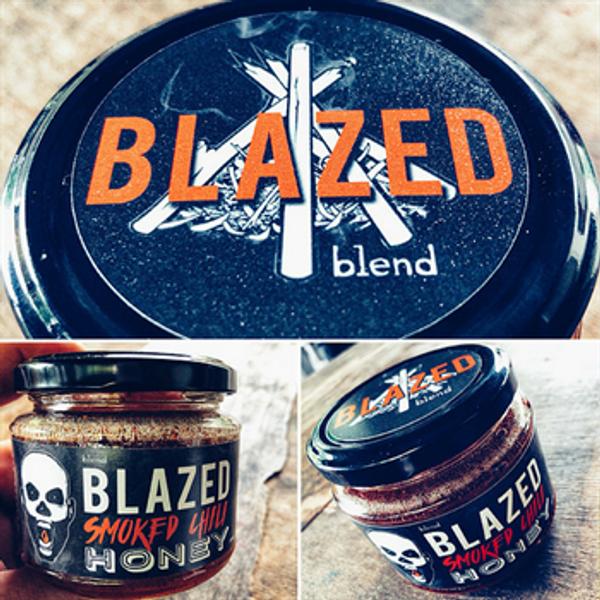 Blazed Smoked Chilli Honey 250G