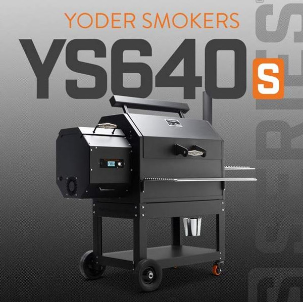 YODER YS640S Pellet Grill with ACS - MADE IN USA