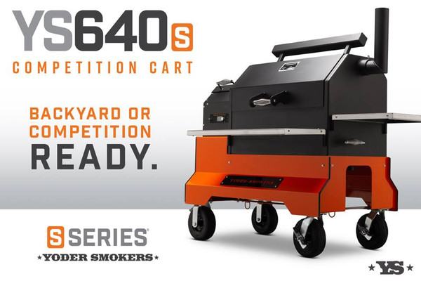 YODER YS640s Pellet Grill with Competition Cart