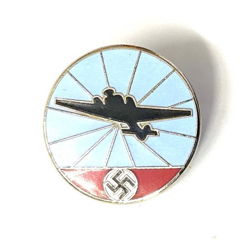 Reichsluftschutz (RLB) Aircraft Warning Service Badge - Front