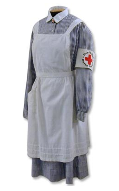 DRK Nurses Dress with Apron